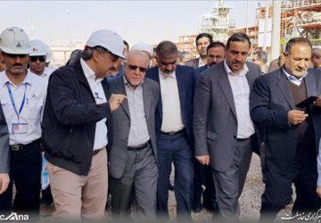 وزیر نفت در عسلویه